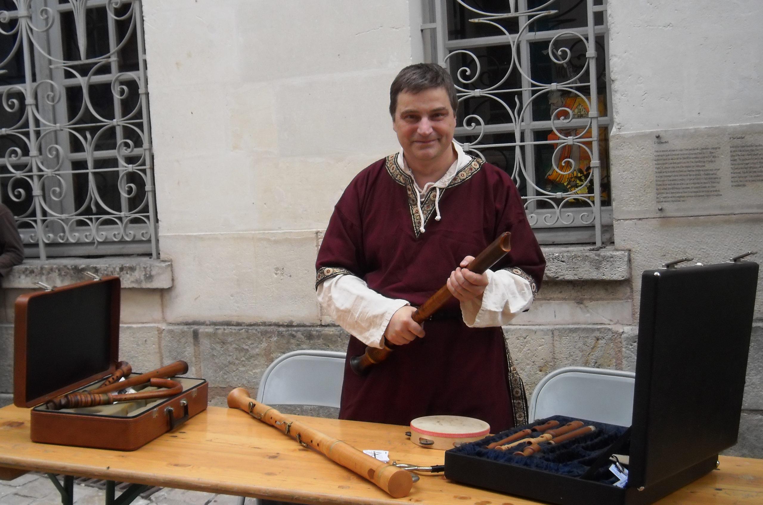 stand fête médiévale