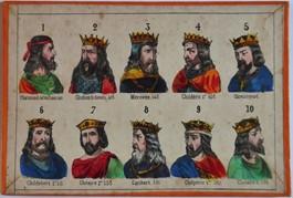 qui sont les rois francs